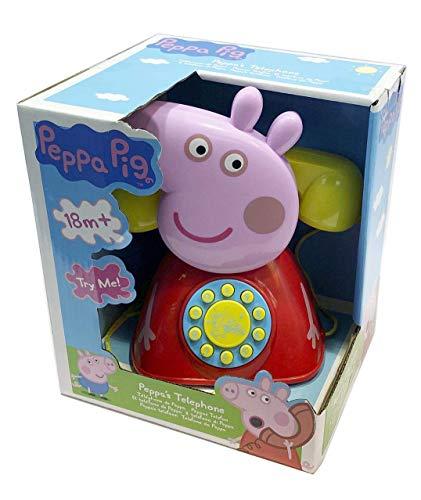 CYP telefono Peppa Pig, Color Rojo (1684687)