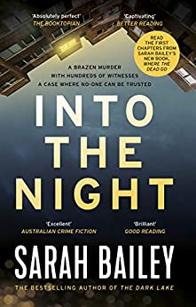Into the Night (Gemma Woodstock Book 2) by [Sarah Bailey]