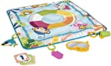 Fisher-Price, FisherPrice Dive Right in Activity Mat PoolThemed playmat with 4 Toys for Newborn Baby, Multicolor