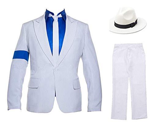 Michael Jackson Smooth Criminal Costume Set for Men or Boys