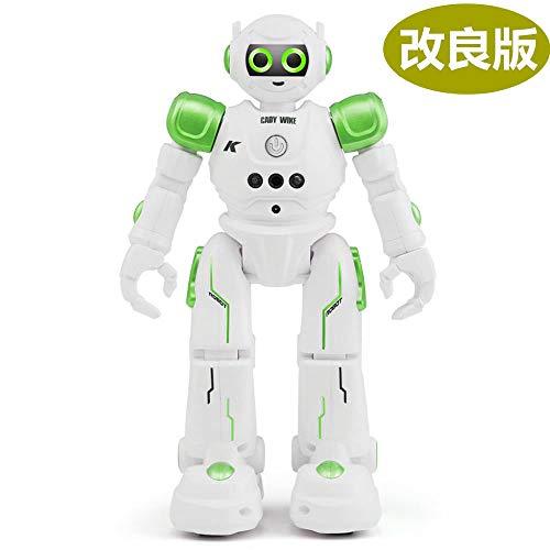 ロボット おもちゃ 男の子 女の子のおもちゃ 電動ロボット プログラム機能 手振り制御 タッチモード 歩く/ダンス/ソング 誕生日 子供の日 クリスマスプレゼント「日本語取扱説明書付き」