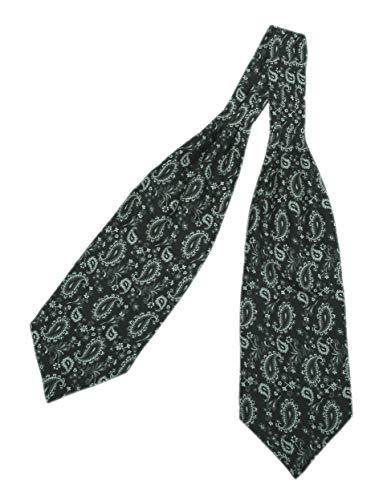 Prettystern 2-laags zijden stoffen zijden das sjaal Paisley