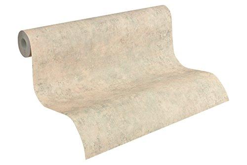 A.S. Création Vliestapete Best of Wood`n Stone 2nd Edition Tapete in Beton Optik Betontapete 10,05 m x 0,53 m beige orange Made in Germany 954062 95406-2, 10.05 0.53 m