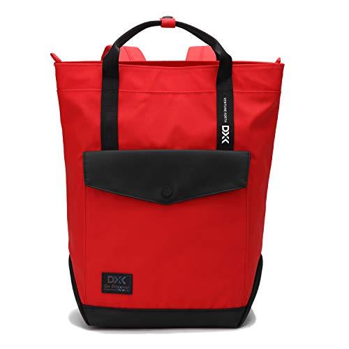 WindTook Damen Rucksack Daypack Schulrucksack Kein, für Schule Büro Alltag, 27 x 37 x 10 cm, Rot