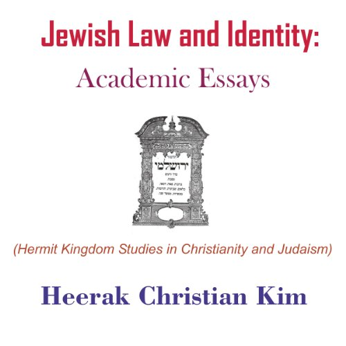 Jewish Law and Identity: Academic Essays audiobook cover art