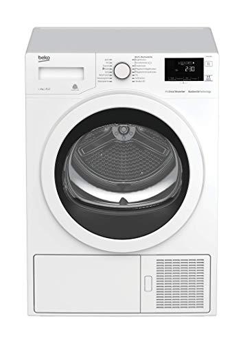 Beko DE8635RX Wärmepumpentrockner/A+++ (-10%)/84,6 cm Höhe/159 kWh/Jahr/weiß - 2