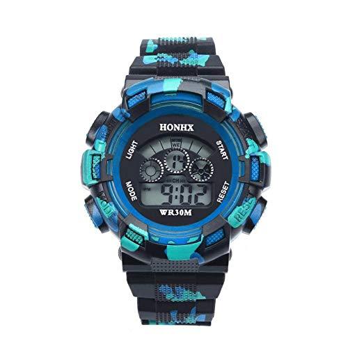HONHX - Reloj digital LED para hombre (3 unidades)