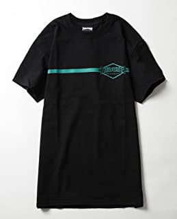 (スラッシャー) THRASHER Diamond lineTEE BLACK S