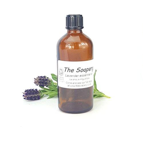 Organische lavendel etherische olie 100ml - 100% zuiver en natuurlijk - gecertificeerd organisch door bodemvereniging