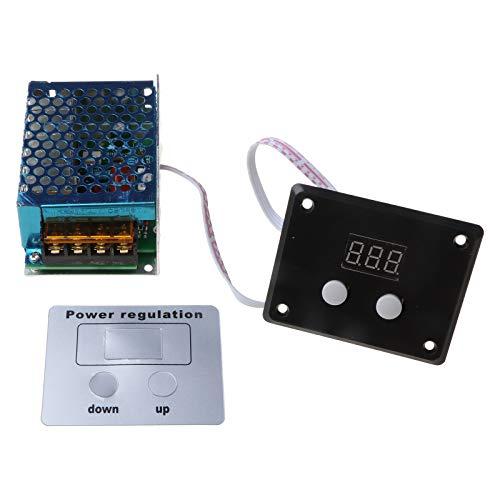 Buwei Pantalla LED AC 220V 4000W SCR Regulador de Voltaje Control de luz Termostato atenuador