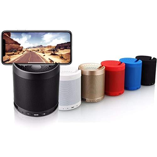 Caixinha Som Portatil Q3 Bluetooth Mp3 Pen Drive Fm recarregavel compativel com Samsung iPhone lg