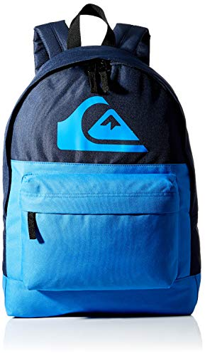 Quiksilver Everyday Backpack Color Block, Mochila. para Hombre, azul marino, Einheitsgröße
