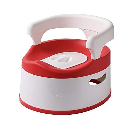 Multiware Siège de Pot Portable Tiroir Design pour Enfant Toilette Bébé Amovible Antidérapante,Red