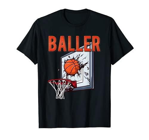 BALLER - Tablero de baloncesto divertido Camiseta