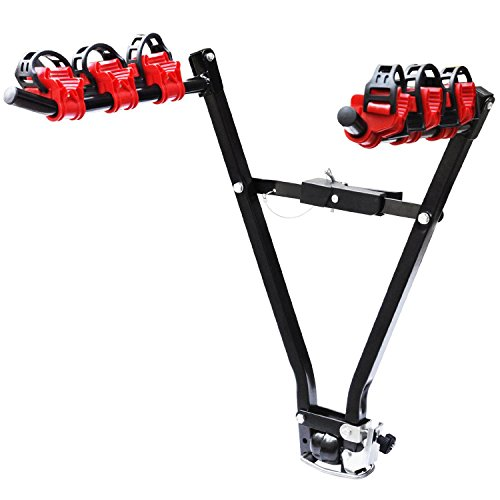 Oypla Universal 3 Bike Bicycle Tow Bar Car Mount Rack Stand Carrier