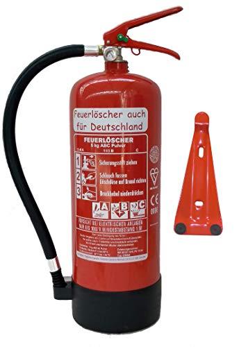 6 kg ABC Pulver Feuerlöscher NEU...