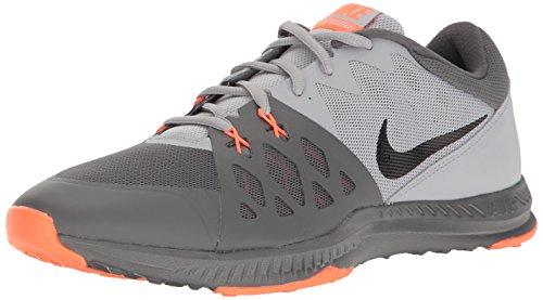 Nike852456 - Air Epic Speed TR II Homme, Gris (Gris foncé/Noir/Gris Loup/Orange.), 40 EU