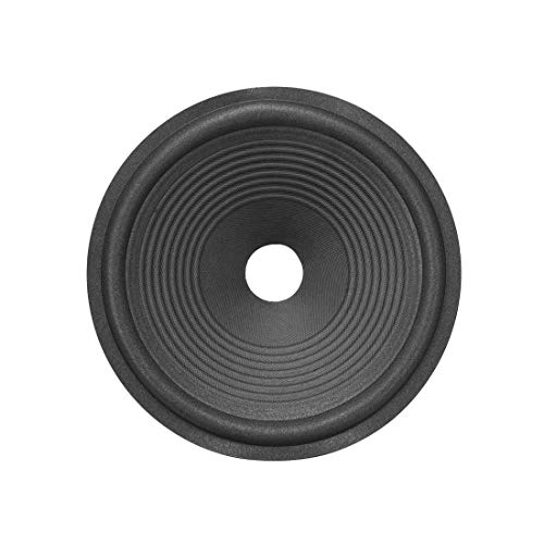 Find Bargain uxcell 10 inches Paper Speaker Cone Subwoofer Drum Ripple Paper 1.5 inches Coil Diamete...