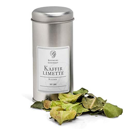 Boomers Gourmet - Kaffir Limetten Blätter - Gewürzdose - 6 g