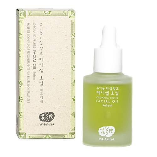 Whamisa Organic Flowers Facial Oil Refresh