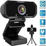 Webcam 1080p HD Computer Camera - Microphone Laptop USB PC Webcam, HD Full Gaming Computer Camera,...