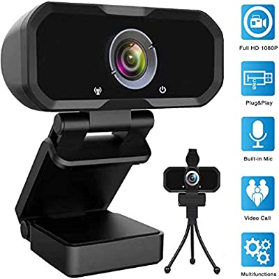 webcam with microphone for computer