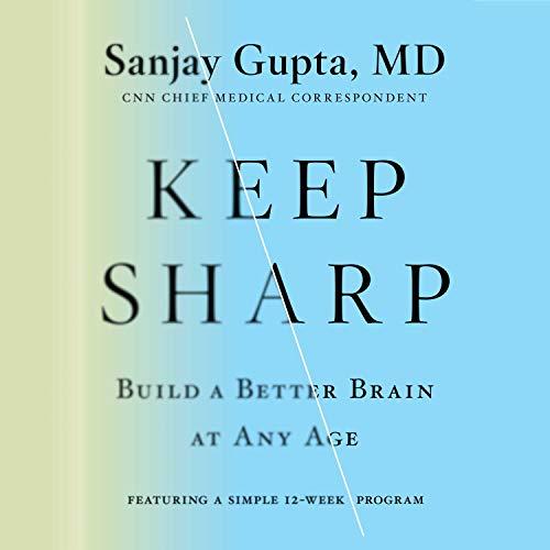 Keep Sharp audiobook cover art
