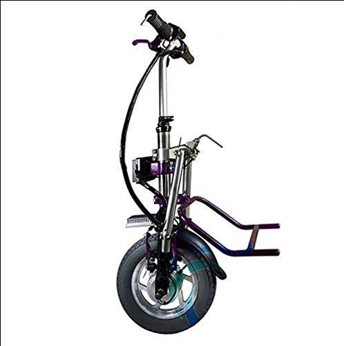 Draagbare rolstoeltractor met LCD-instrument, elektromagnetische rem, nachtlampje, inklapbaar, in hoogte verstelbaar, lichtgewicht rolstoelbooster