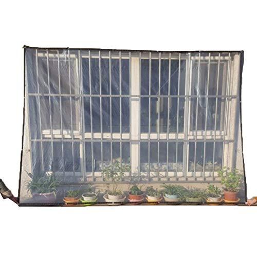 GZHENH Capucha Protectora De Pabellón, Transparente Lona De Plástico Impermeable con Ojal Fácil De Colgar Portátil, 21 Tamaños (Color : Claro, Size : 2x3m)