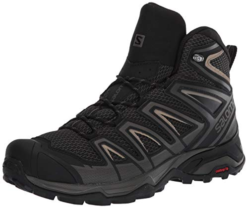 Salomon Men's X Ultra MID 3 AERO Hiking, Peat/Bungee Cord/Vintage Kaki, 9