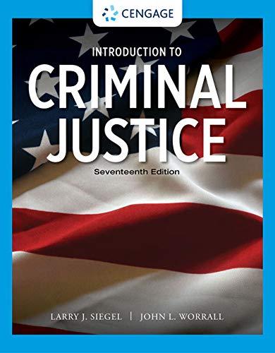 Introduction to Criminal Justice (MindTap Course List)