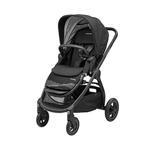 Maxi-Cosi Kombikinderwagen Adorra (Trio-Set) Kinderwagen mit Sportsitz, Babywanne Oria & Babyschale CabrioFix für Babys & Kleinkinder bis 3,5 Jahre