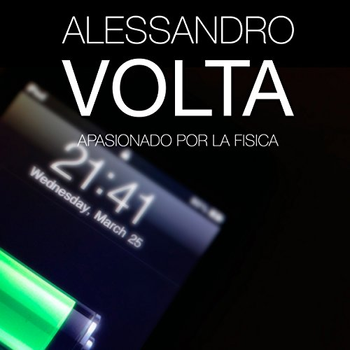 Alessandro Volta audiobook cover art