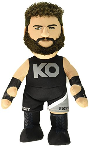 """Bleacher Creatures WWE Kevin Owens 10"""" Plush Figure- A Wrestling Star for Play or Display"""