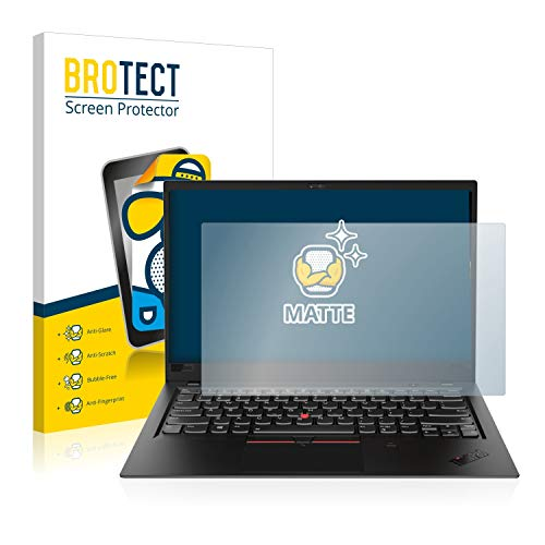 BROTECT Entspiegelungs-Schutzfolie kompatibel mit Lenovo ThinkPad X1 Carbon (6. Generation) Bildschirmschutz-Folie Matt, Anti-Reflex, Anti-Fingerprint