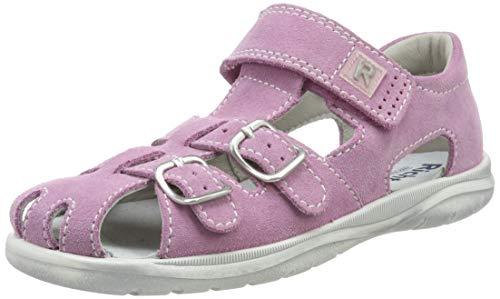 Richter Kinderschuhe Mädchen Babel Geschlossene Sandalen, Pink (candy/silver 3111), 23 EU