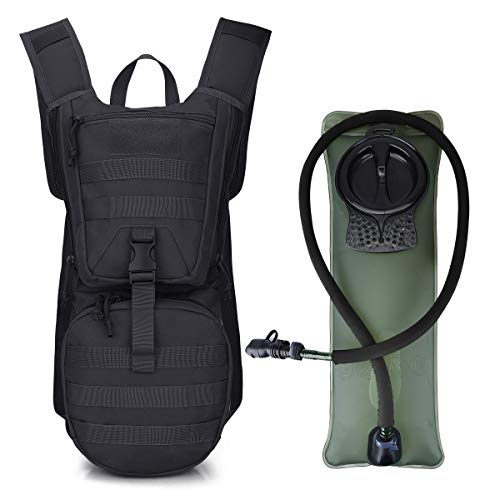 G4Free Tactical Hiking Daypack with Hydration Bladder