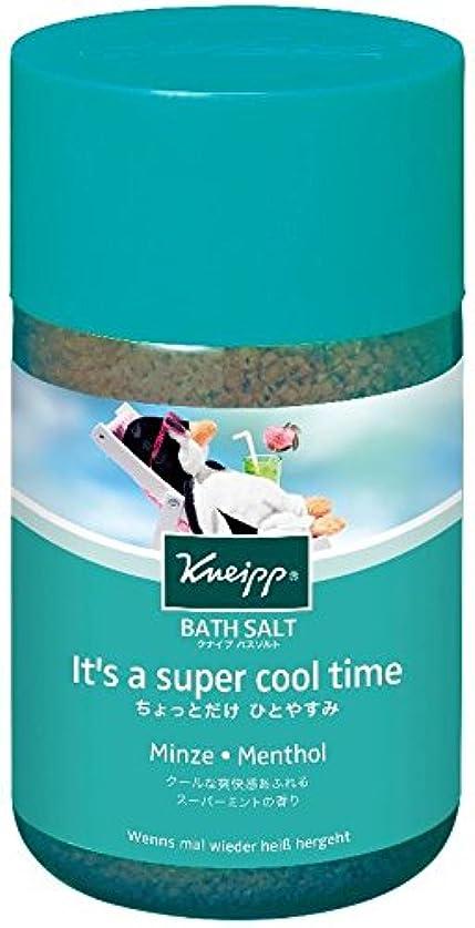 娯楽酸スキッパークナイプ バスソルト スーパーミントの香り 850g