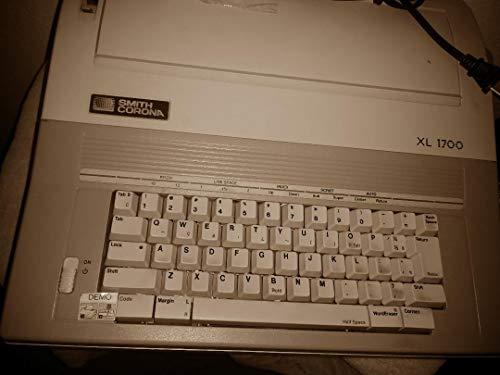 Smith Corona Grey and White Word Erasing Electric Typewriter XL 1700