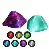 Queta Halloween LED Lichter Maske, LED Rave Maske Lichter, 7 Farben und 5 Blitzmodi für Erwachsene...