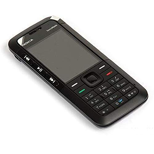 Renovated Nokia 5310Xm Xpressmusic - Teléfono con pantalla de 2' (reproductor de MP3, compatible con teclado ruso desbloqueado)