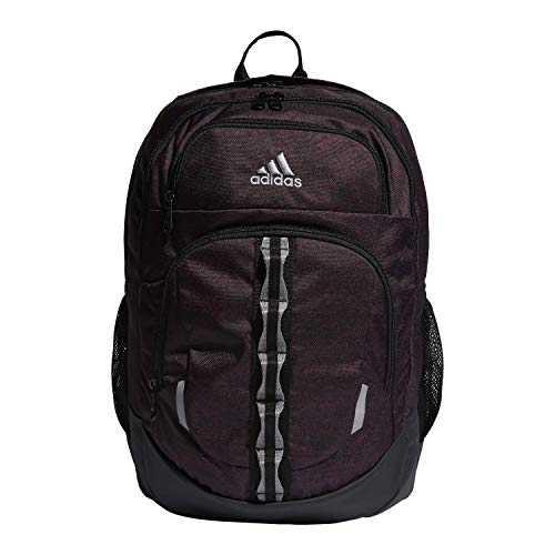 adidas Unisex Prime Backpack, Collegiate Burgundy Jersey/ Black/ Grey Two, ONE SIZE
