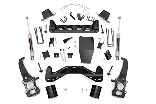 Rough Country 6' Lift Kit w/N3 Shocks for 2004-2008 F150 4WD - 54620
