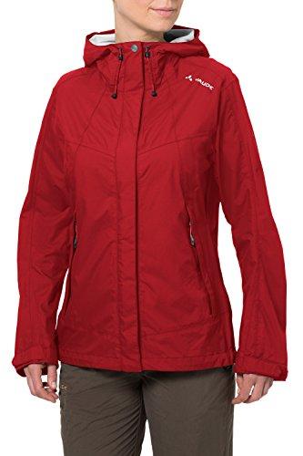 VAUDE Damen Jacke Lierne Jacket, red, 38, 04498