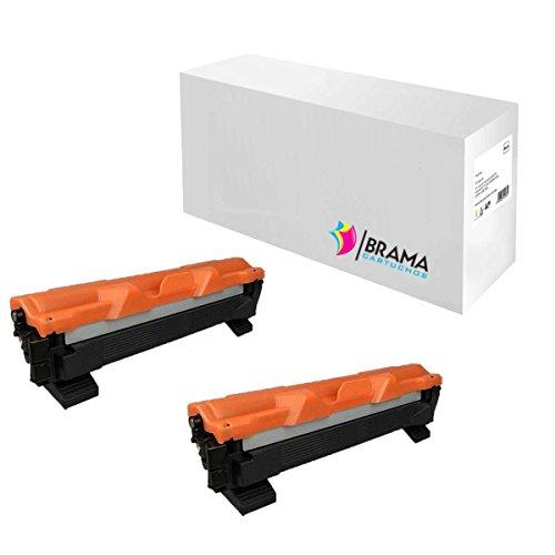 2 X Cartuchos Compatibles Non Oem Brother Tn-1050 , Tn1050 , Brother DCP-1510, DCP-1512, HL-1110, HL-1112, MFC-1810. TN1050, TN-1050. 1000 páginas, GARANTIZAR CALIDAD COMPRAR DE BRAMA CARTUCHOS , ENVÍO DESDE MADRID, EMPRESA ESPAÑOLA.