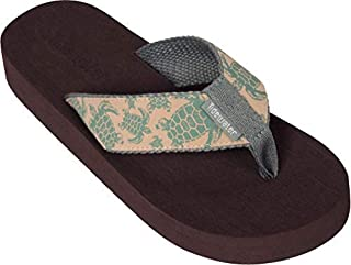 Tidewater Women's Natural Turtle Sandals