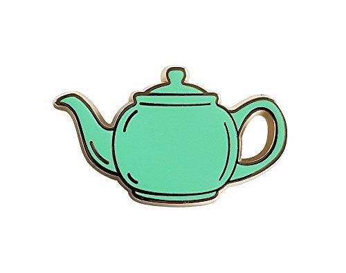 Pinsanity The Office Green Teapot Enamel Lapel pin