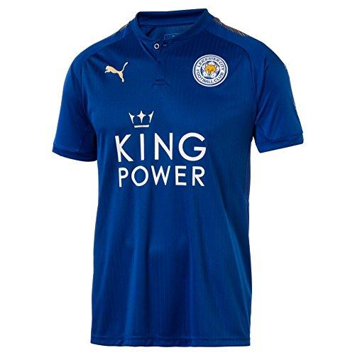 Puma Fußball Leicester City FC England Trikot Home 2017 2018 Kinder blau weiß Größe 128