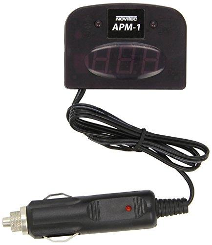 Novitec 705APM1 Spannungsanzeiger zur Vorbeugung von Batteriedefekten und zur Kontrolle der Lichtmaschine