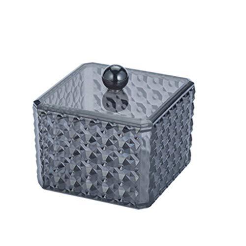 NIVC 5 uds Mini contenedor de latas de Metal Cuadrado con bisagras abatible Caja de Lata de Almacenamiento pequeño Kit Caja joyería Moneda Caramelo condón Organizador portátil